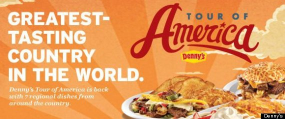 DENNYS TOUR OF AMERICA