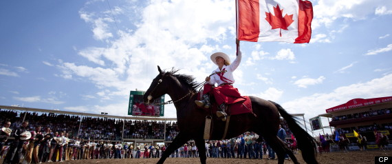 Calgary Stampede French Anthem