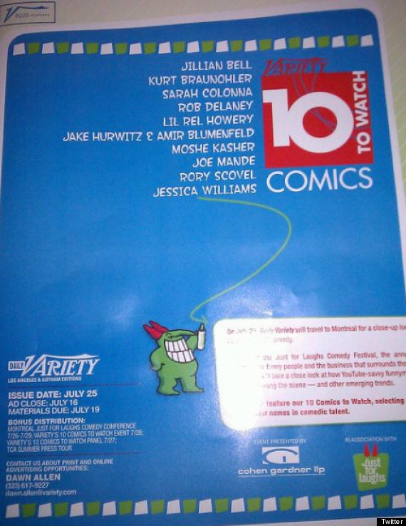 variety 10 comics to watch