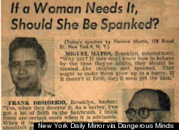Daily Mirror Women Spanking