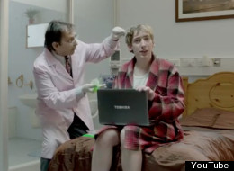 Toshiba Satellite Ad Medical Test Subjects