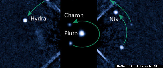How Many Moons Does Pluto Have - Pics about space