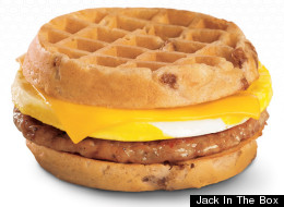 Jack In The Box Breakfast Waffle