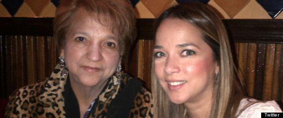 ADAMARI LOPEZ Y SU MAMA VIDALINA