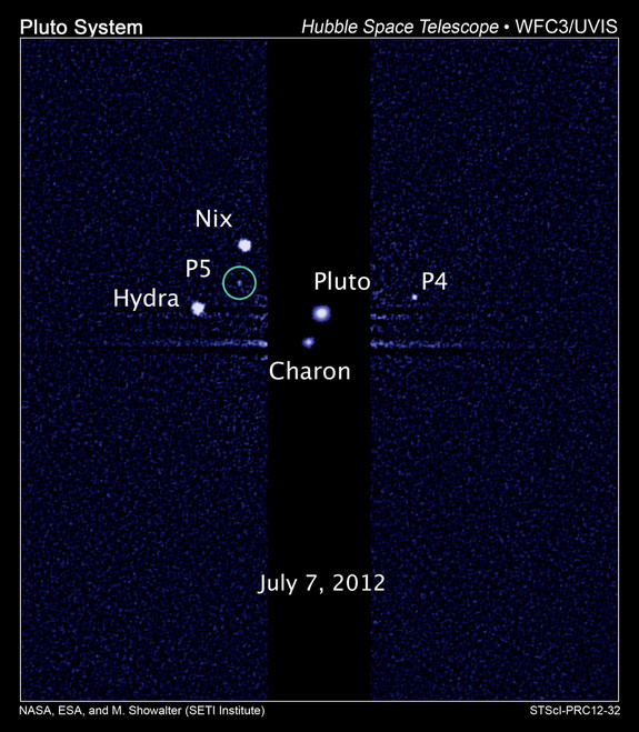pluto moon spacecraft