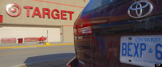TARGET LOCATIONS CANADA