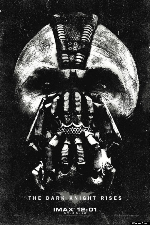 bane imax poster the dark knight
