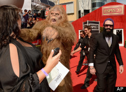 PHOTOS: Brian Wilson Brings Sasquatch To The ESPY Awards