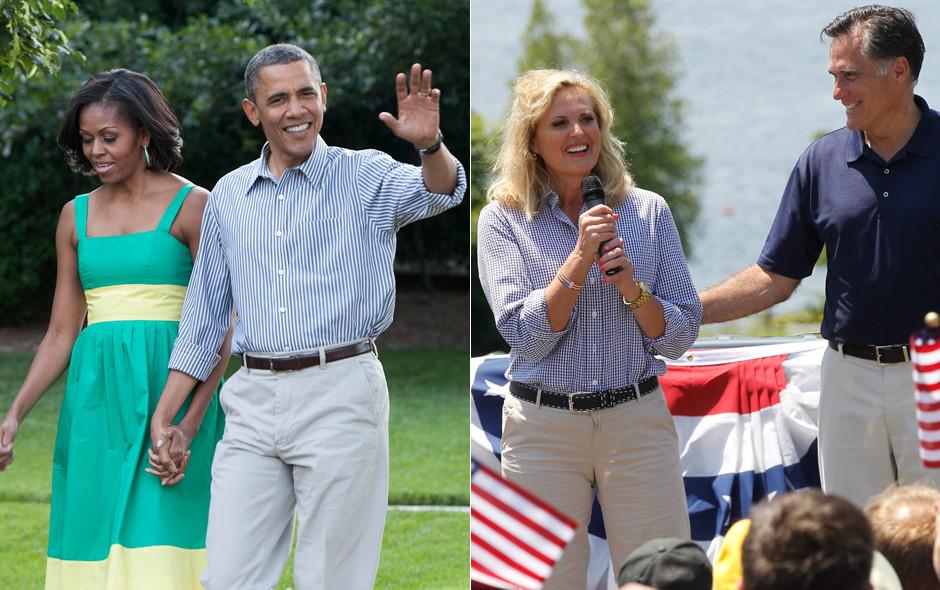 barack obama ann romney