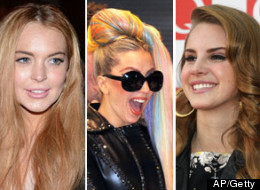 Lohan Gaga Del Ray Slumber Party