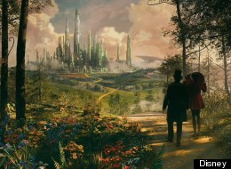 FIRST LOOK: Sam Raimi Debuts His Wonderful Land Of Oz