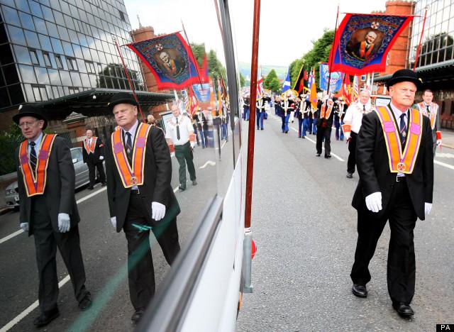 orange order march