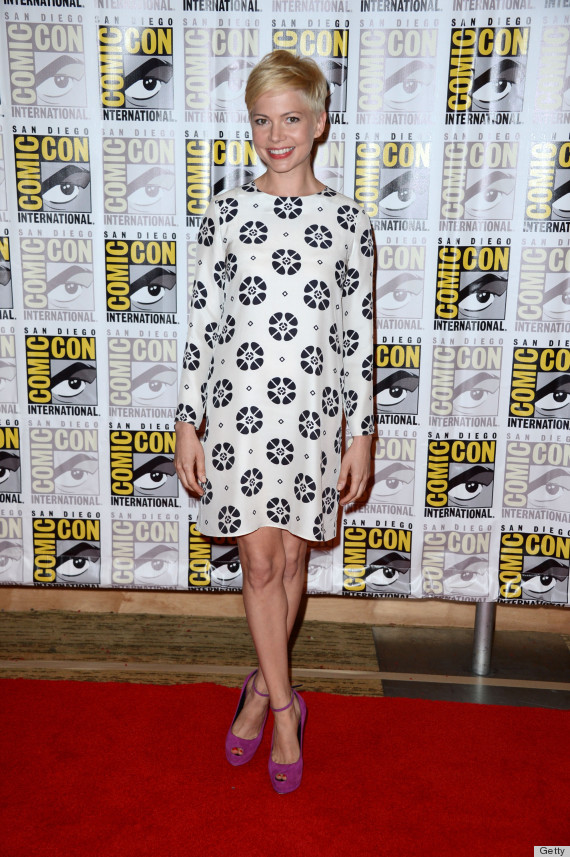michelle williams comiccon