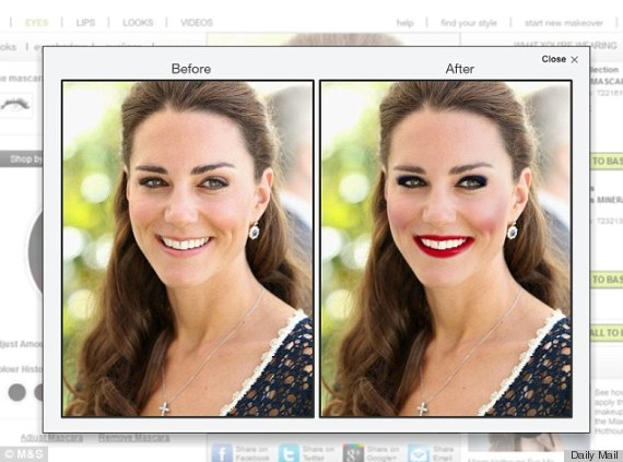 Kate middleton makeover photos does duchess kate look How to do a home makeover