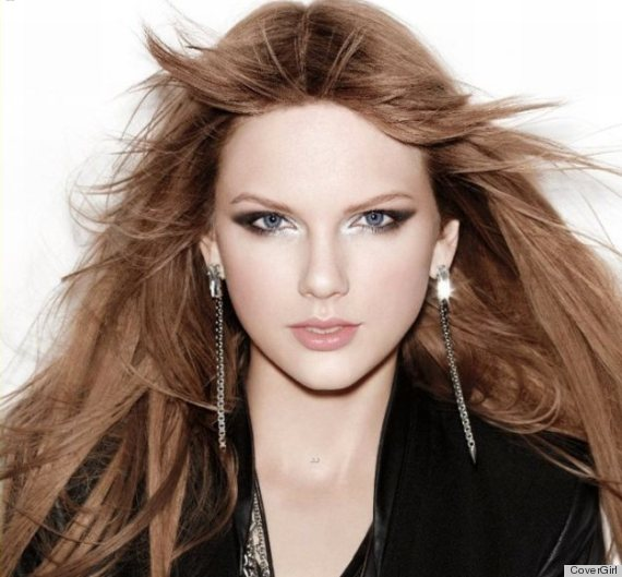 Taylor Swift Brunette: New CoverGirl Ads Show Off Star's ...