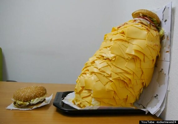 whopper 1000 slices cheese