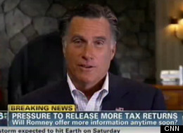 Mitt Romney Tax Returns