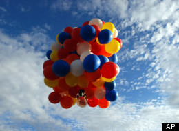 Lawn Chair Balloons