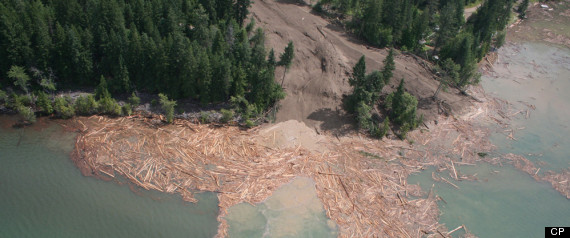 JOHNSONS LANDING BC LANDSLIDE