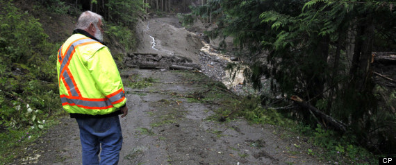 BC LANDSLIDE BODY FOUND
