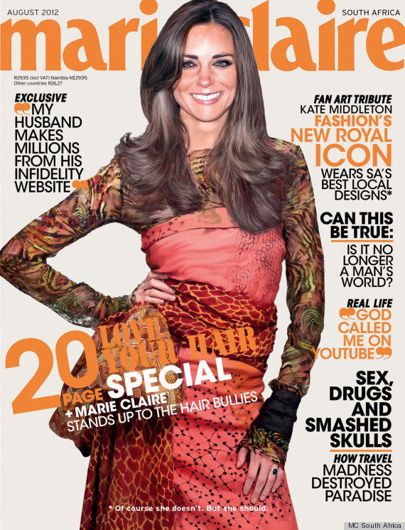 kate middleton marie claire south africa