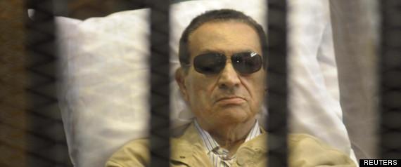 MOUBARAK RETOUR PRISON