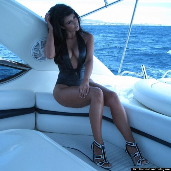 Kim Kardashian, Bathing Suit: Reality Star Is Hot In Miami ...