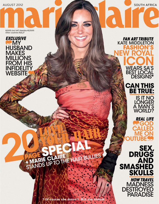 duchess kate marie claire