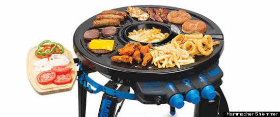 DEEP FRY GRILL PORTABLE