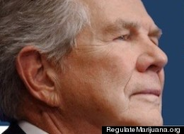 Pat Robertson Pot Billboard