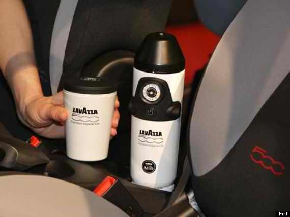 in car espresso machine