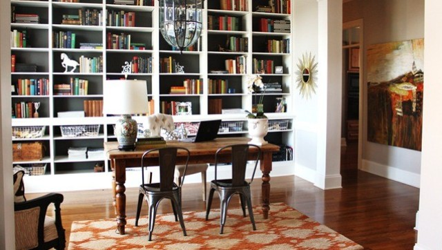 blogger emily a clark shares her new home makeover photos office