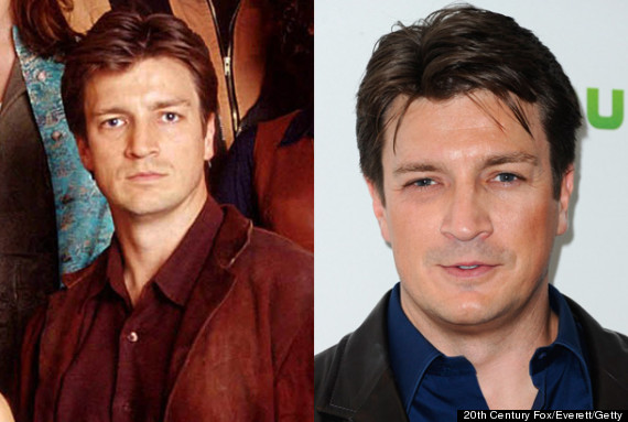 nathan fillion firefly then and now