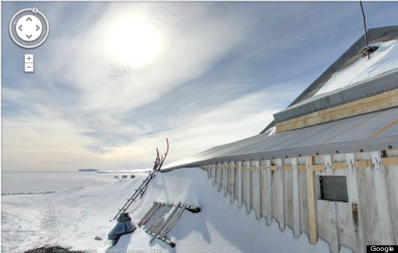 google antarctic
