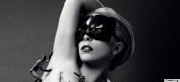 Lady Gaga Nude Fragrance Ad Features Strategically Placed