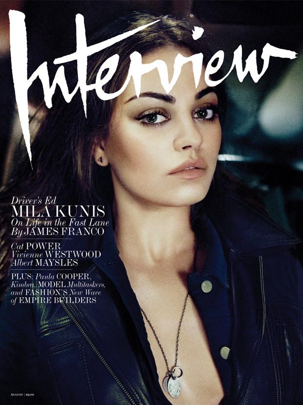 kila kunis interview cover