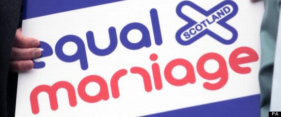GAY MARRIAGE SCOTLAND