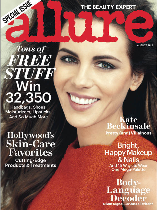 kate beckinsale allure cover