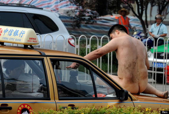 china naked man