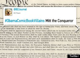#ObamaComicBookVillains