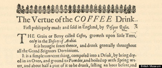 COFFEE AD 1650S