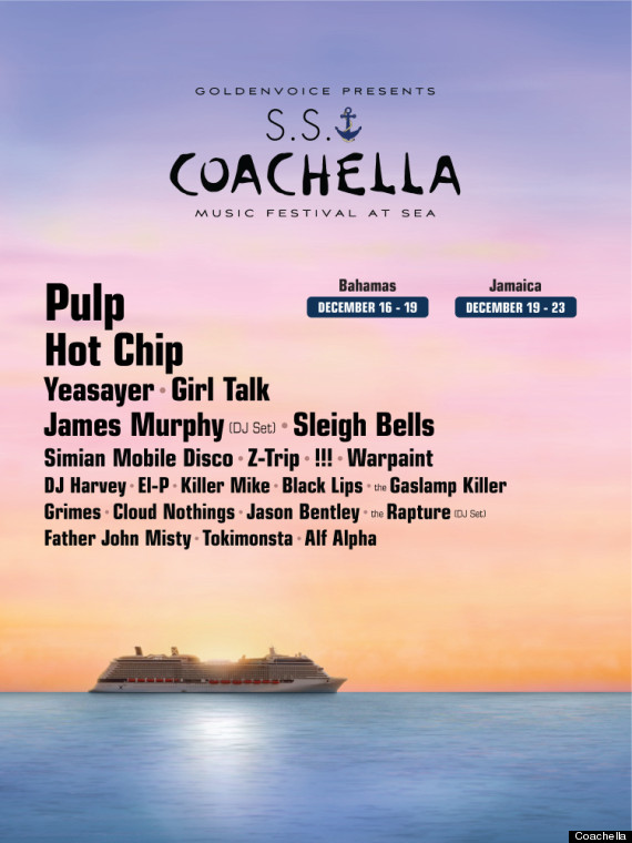 coachella cruise
