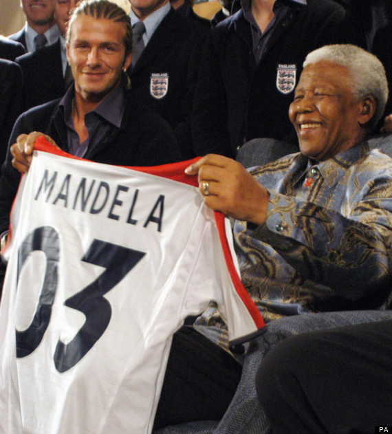 beckham and mandela