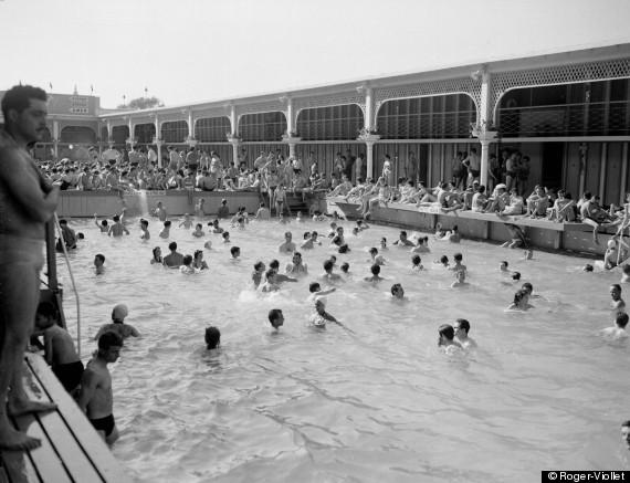 De paris plages aux voies sur berge la seine redevient for Bar la piscine paris 18