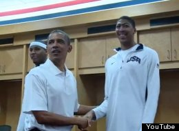 Obama Usa Basketball