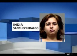 India Sanchez Hidalgo Caught Stolen Credit Card