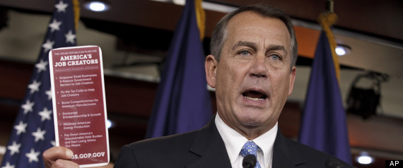 Boehner Cantor Republicans Jobs