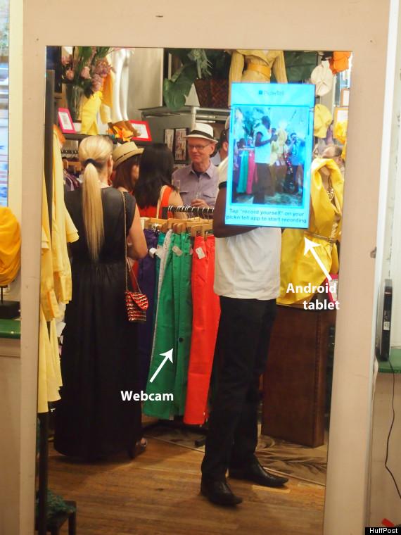interactive mirror