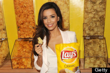 Either This Is A Giant Crisp Packet, Or Eva Longoria Really Is Just Very Small