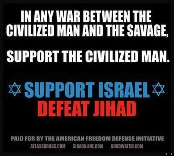 geller anti islam bus ad new york